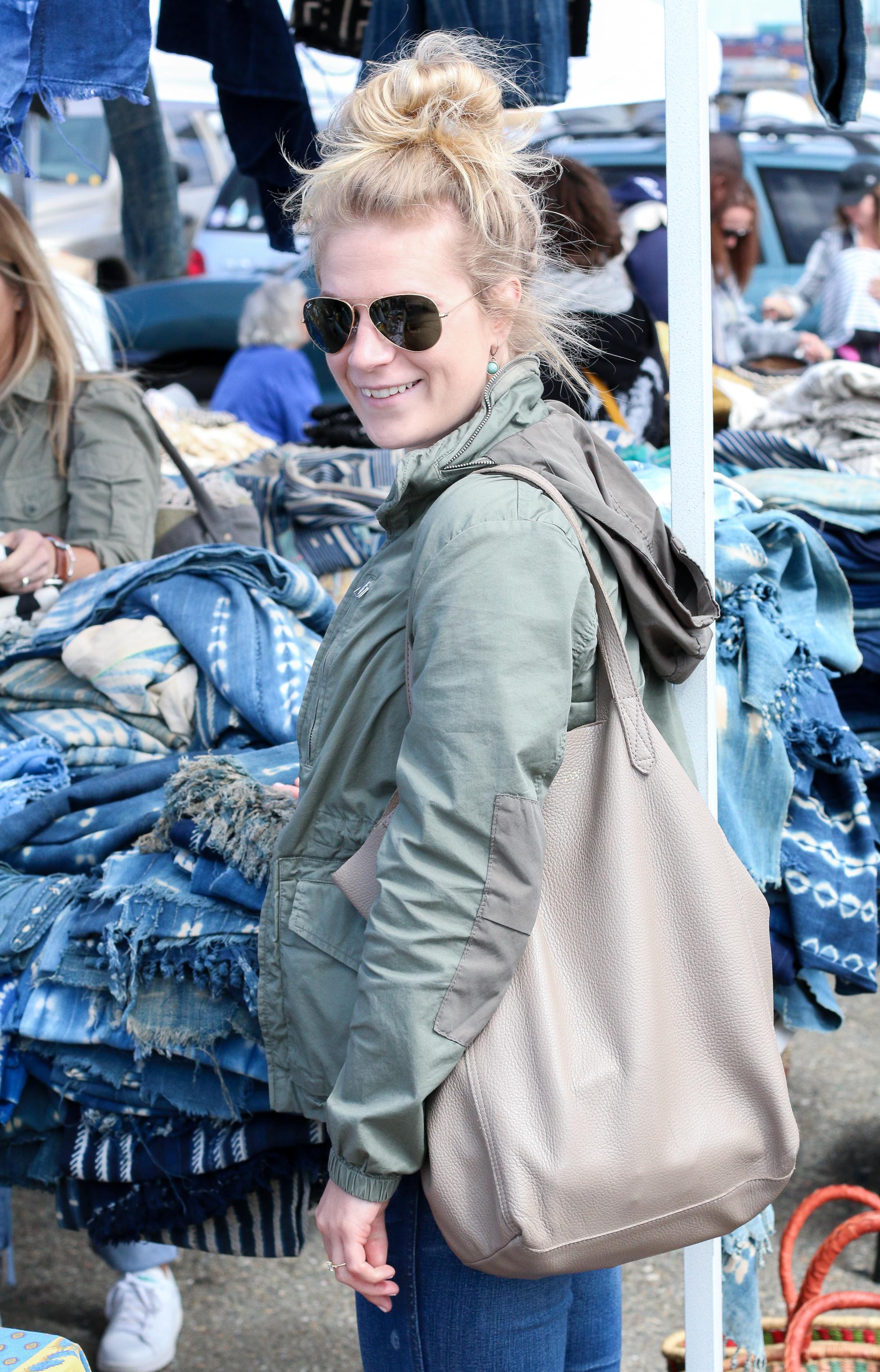 Adventures at the Alameda Flea Market.