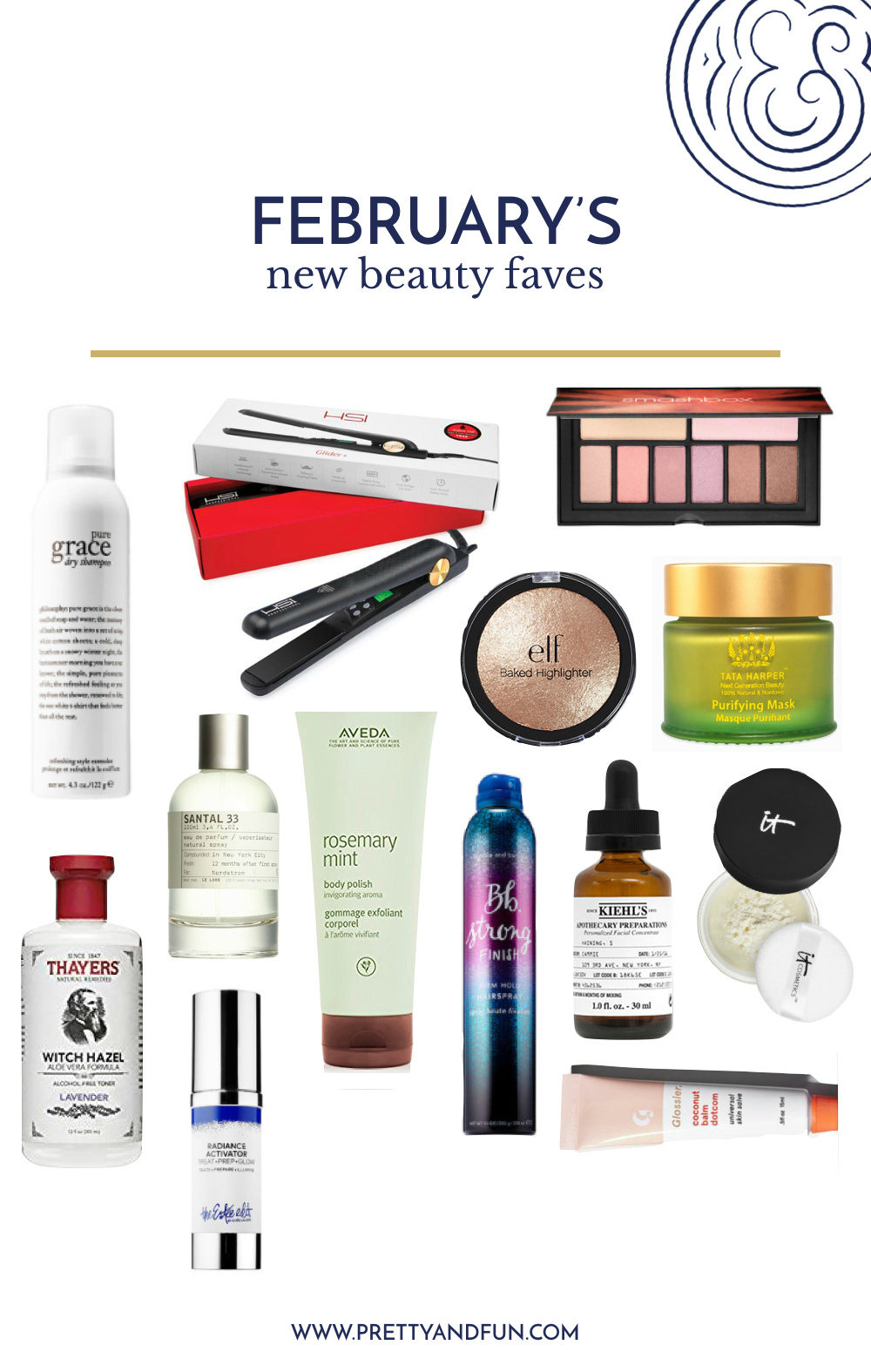 New Beauty Favorites // February 2017.
