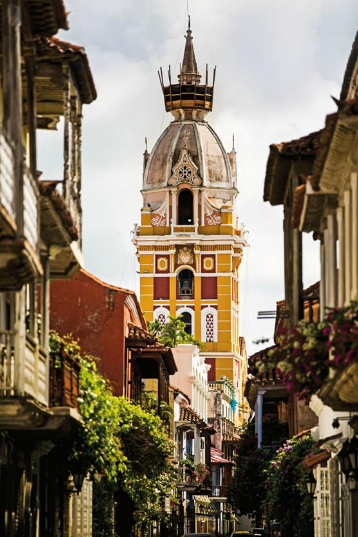 Headed to Cartagena, Colombia.