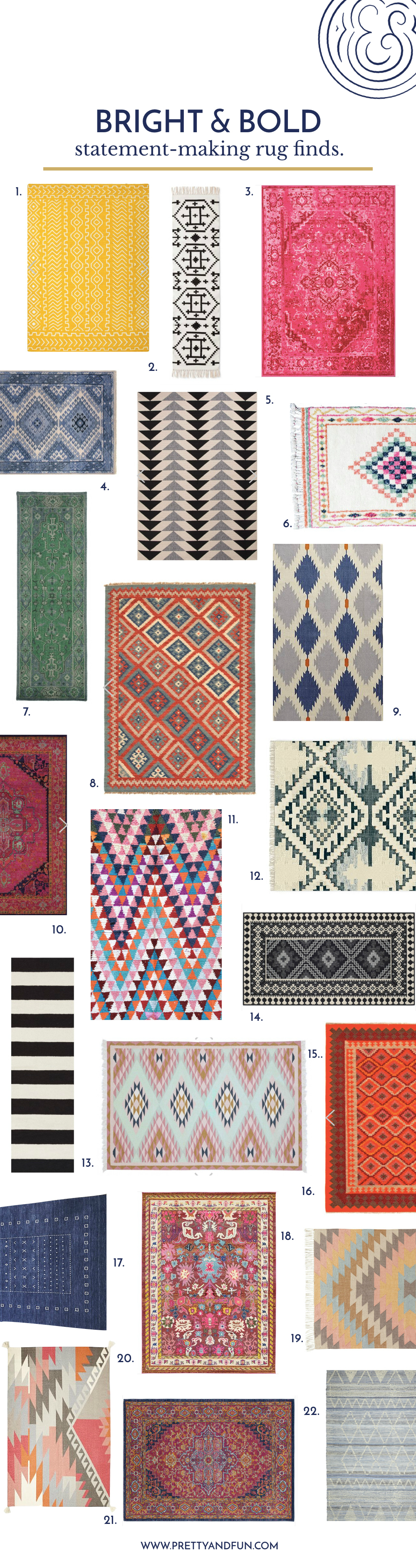 22 Bold Rugs That Make a Statement.