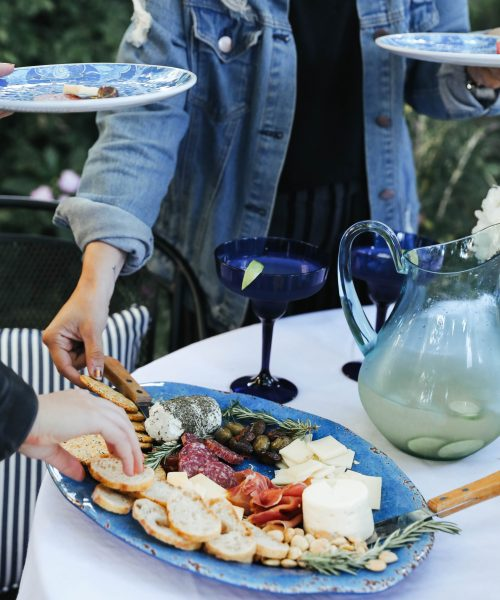 Summertime Blues Backyard Party with Pier 1.