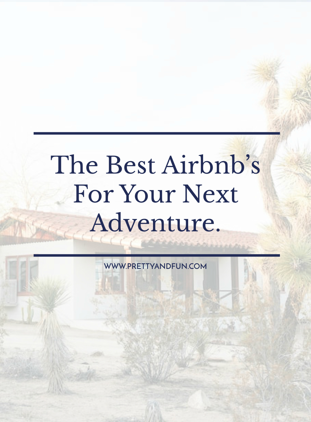 10 Of The Best Airbnbs Across The Globe.