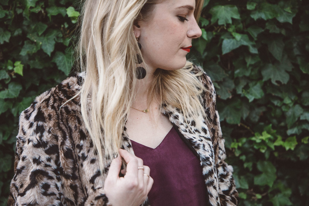 IMG_4012What to Wear for Thanksgiving | BB Dakota Leopard Jacket, Madewell Denim and LUSH Tank from Nordstrom