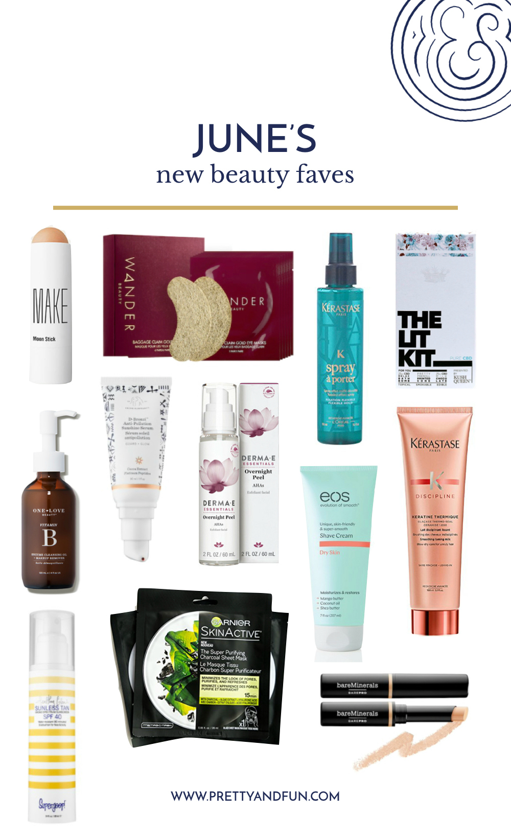 New Beauty Faves // My latest tried and true beauty products.