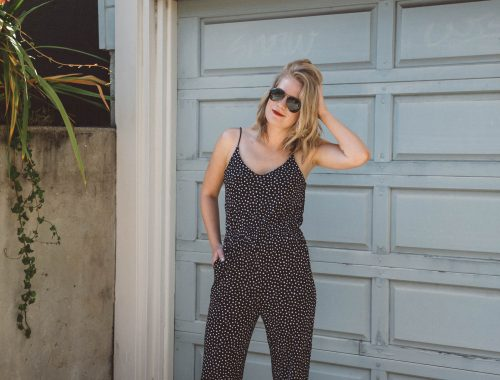 On Heavy Rotation // A statement jumpsuit from H&M has been my go to for day and night lately.